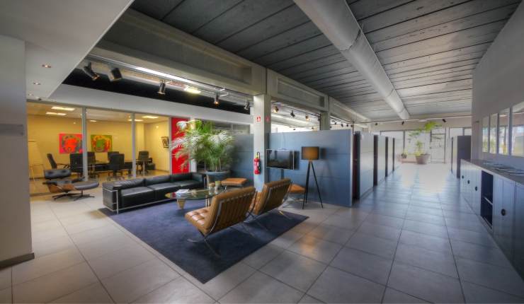 Te huur : All-in kantoor met vergaderfaciliteiten, The Factorie Business Lounge Antwerpen ( BNO )